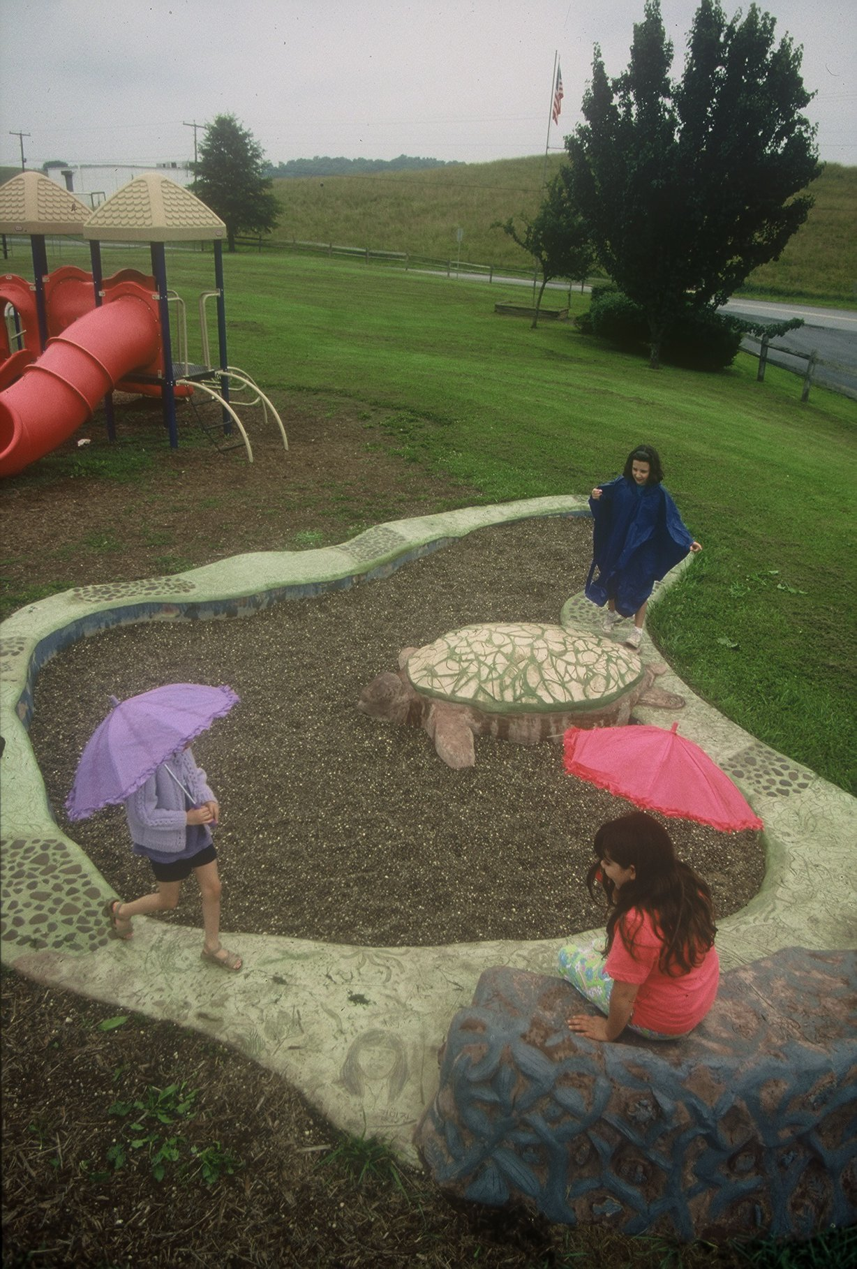 Turtle/Pond Play Area