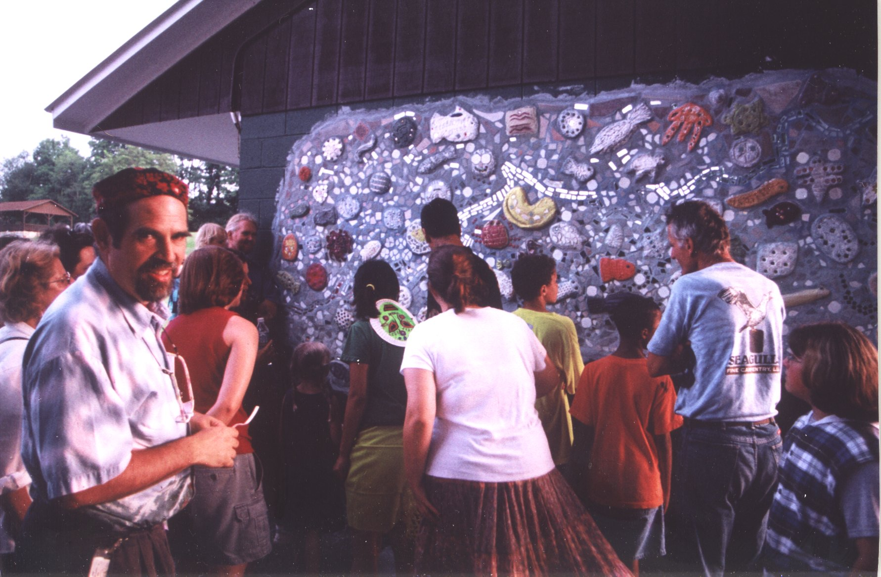 International Block Party - Our Greenbrier River Mosaic Mural