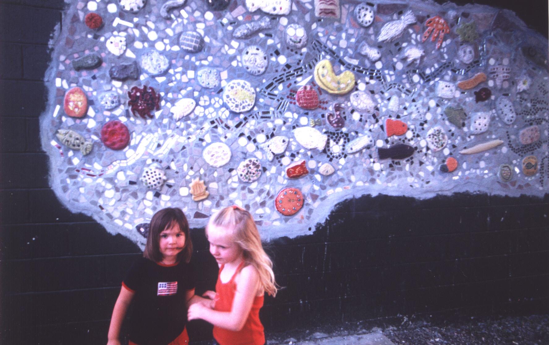 Our Greenbrier River Mosaic Mural