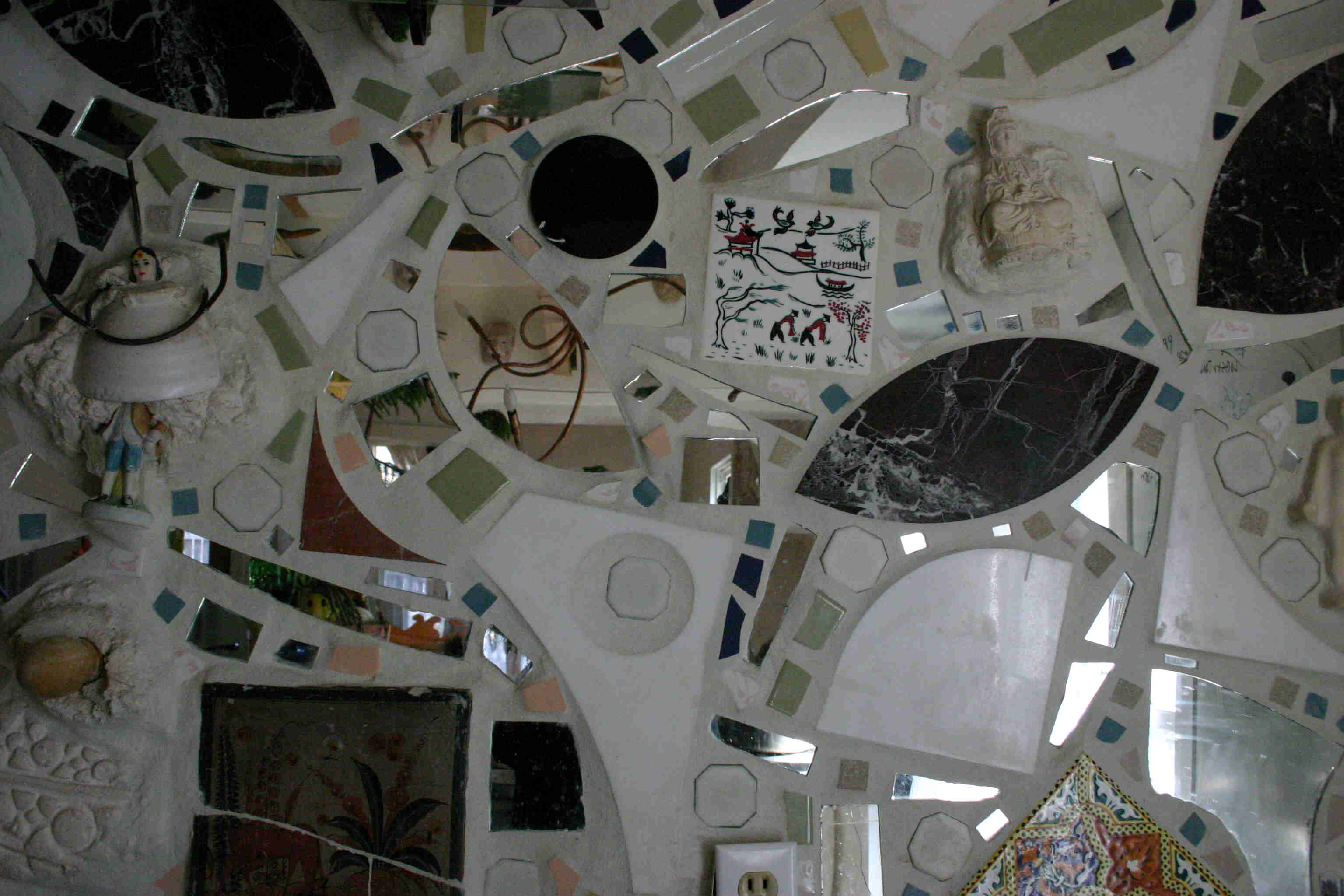 MAP office, Mosaic Mural