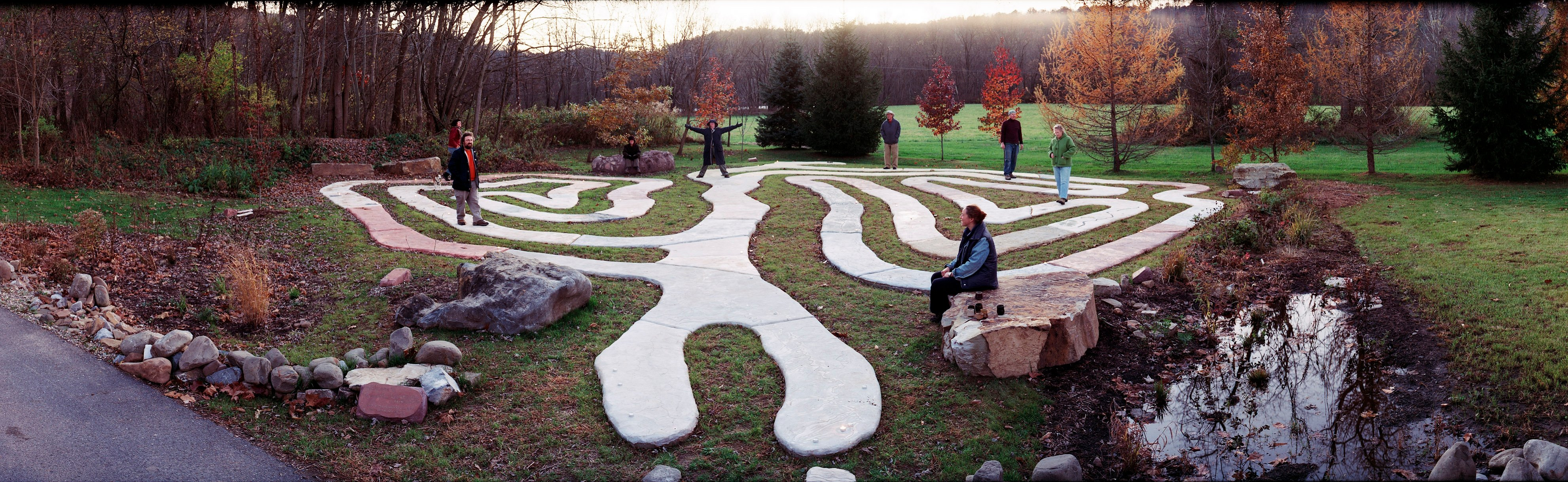 RiverWise Labyrinth Park